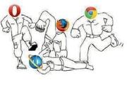 נתוני שימוש בדפדפנים באינטרנט